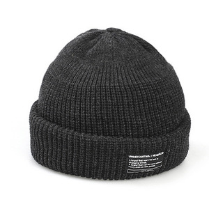 BEANIE / MONK FIT / SOLID CHARCOAL