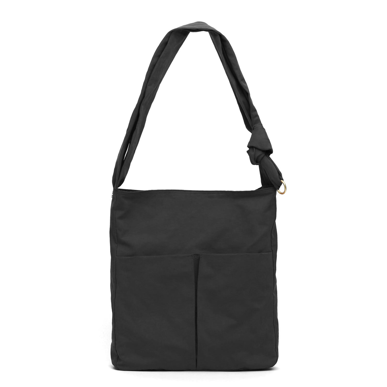 SQUARE BAG / WRINKLE / NPC / DARK BLACK