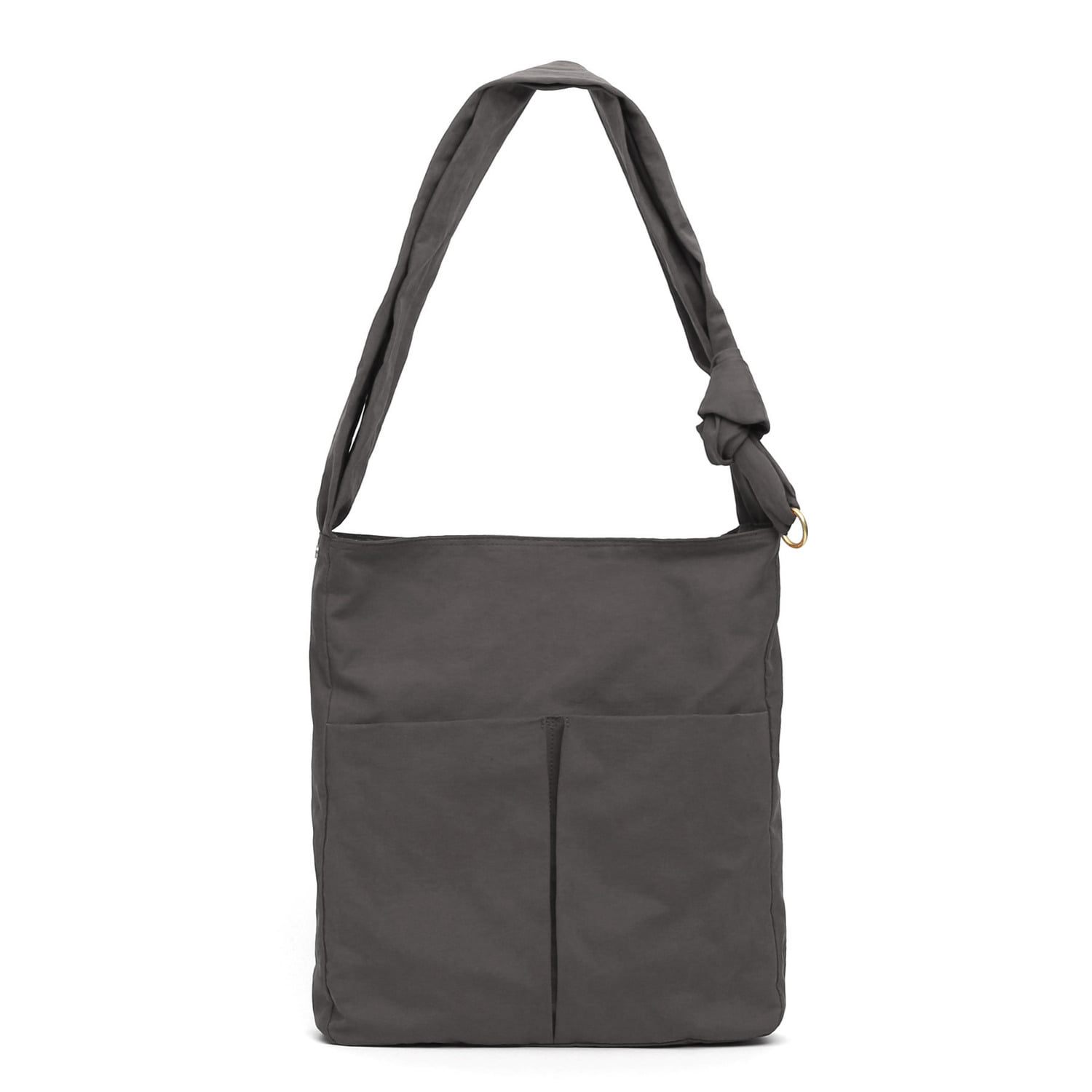 SQUARE BAG / WRINKLE / NPC / DAWN CHARCOAL