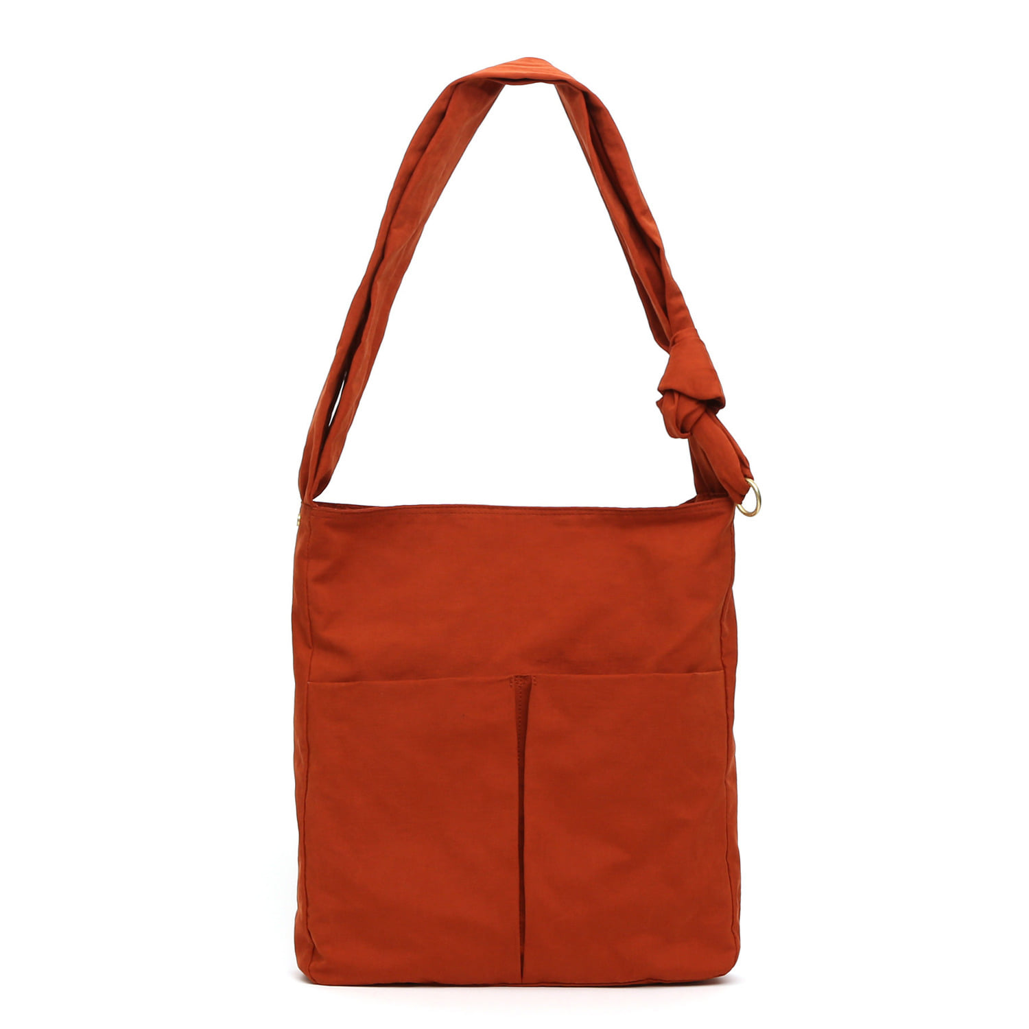 SQUARE BAG / WRINKLE / NPC / BRICK ORANGE