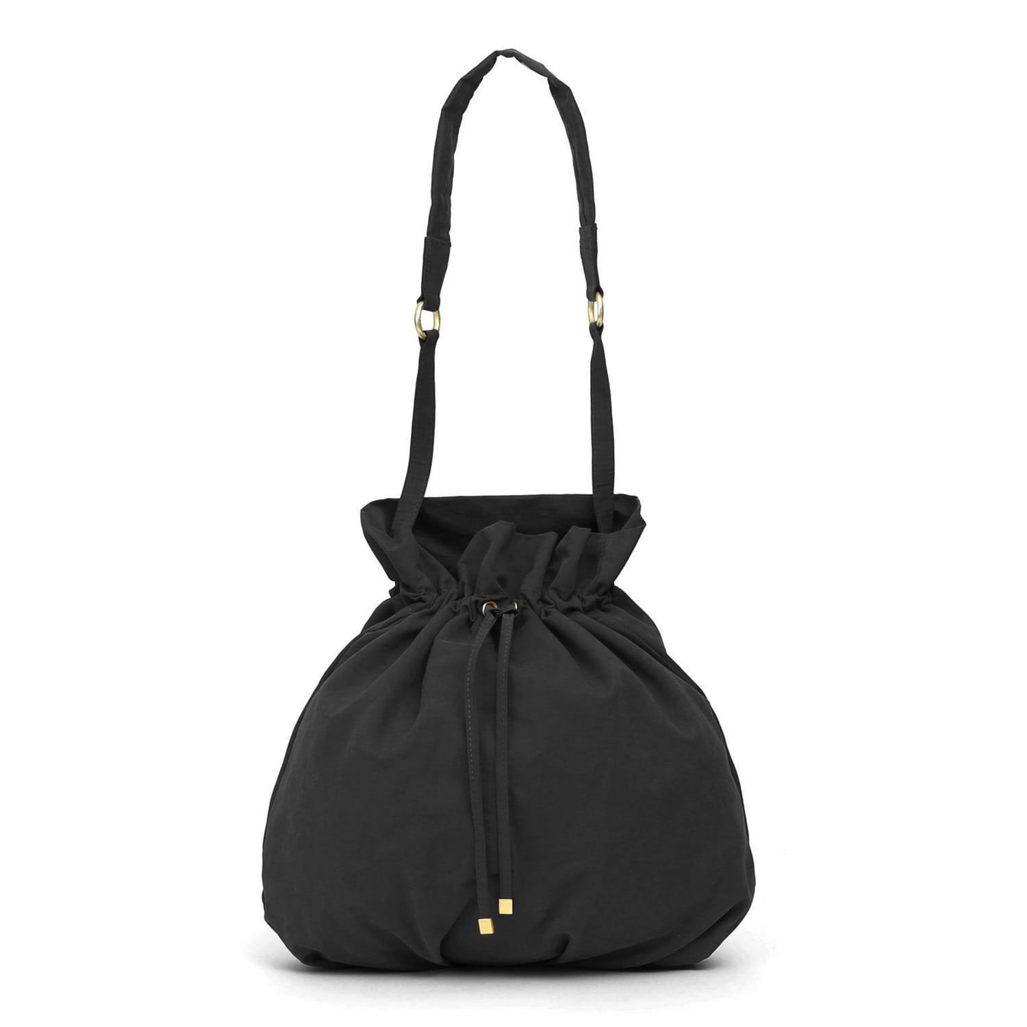 POT BAG / WRINKLE / NPC / DARK BLACK