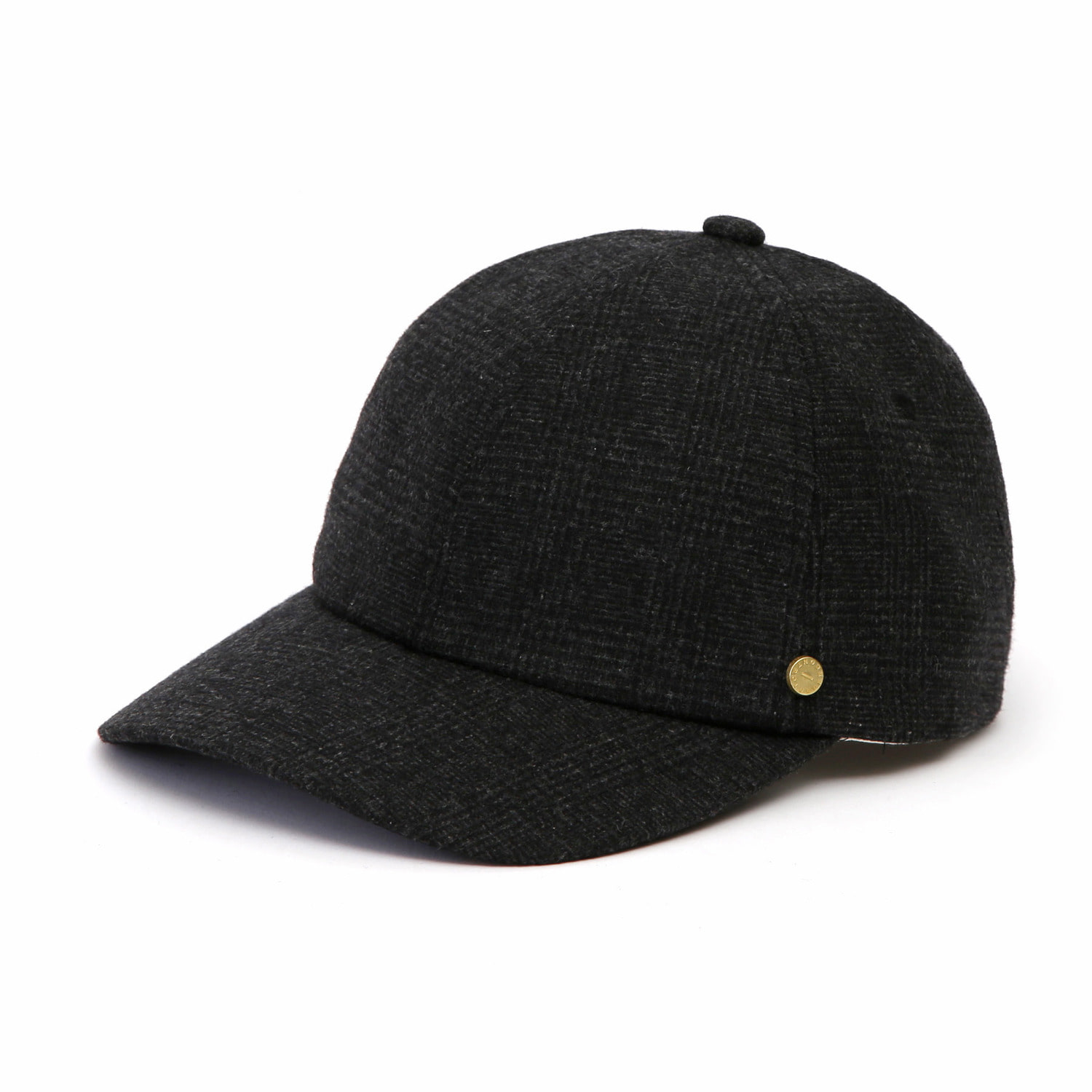 6PANNEL BALL CAP / MODS GLEN / BLACK