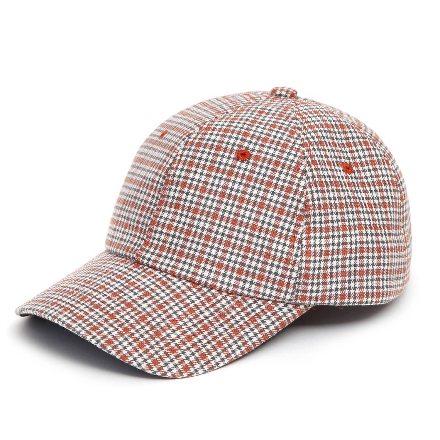 POP HOUND / AUTHENTIC B B / ORANGE CHECK