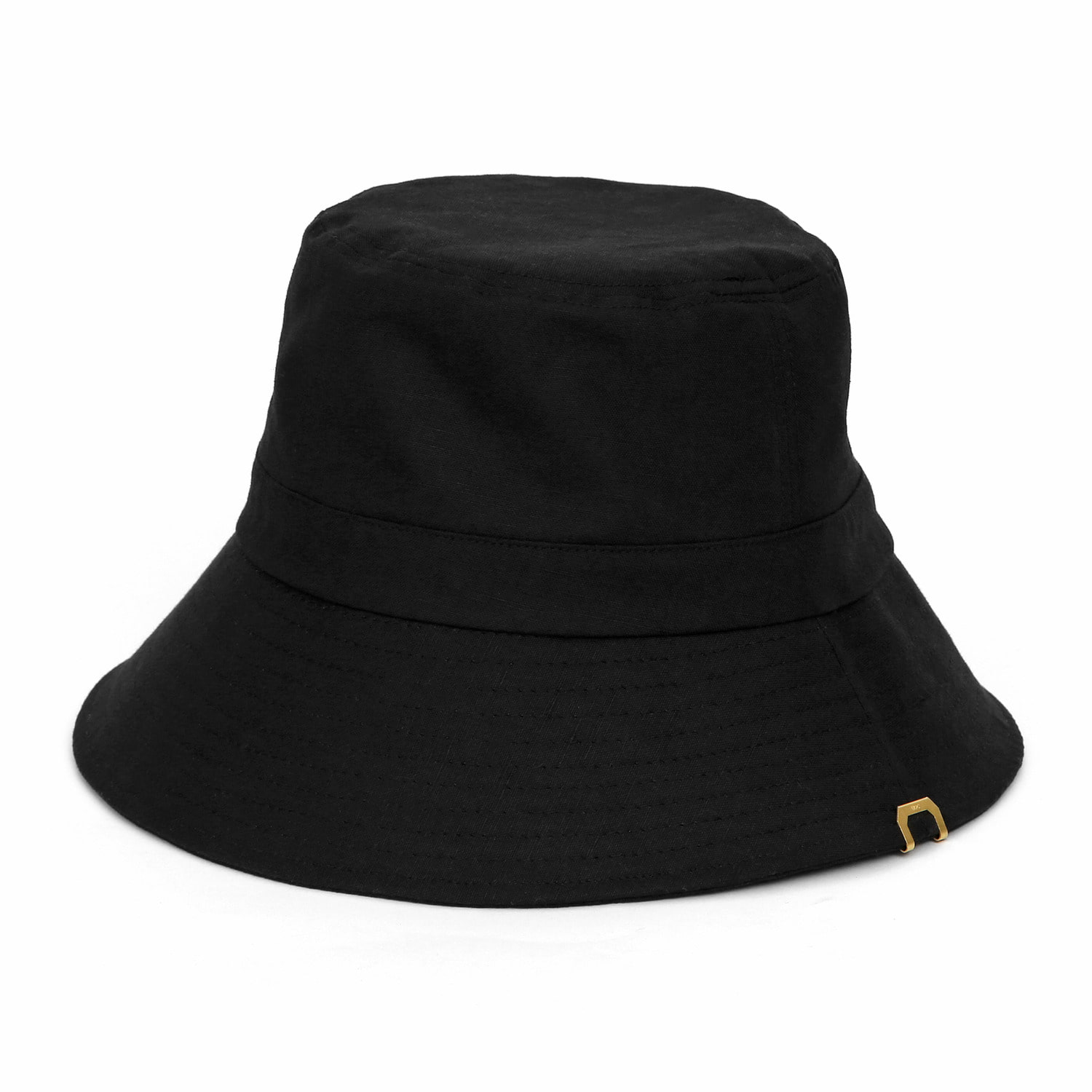 [2차 재입고] HIDE BUCKET / LINEN / BLACK