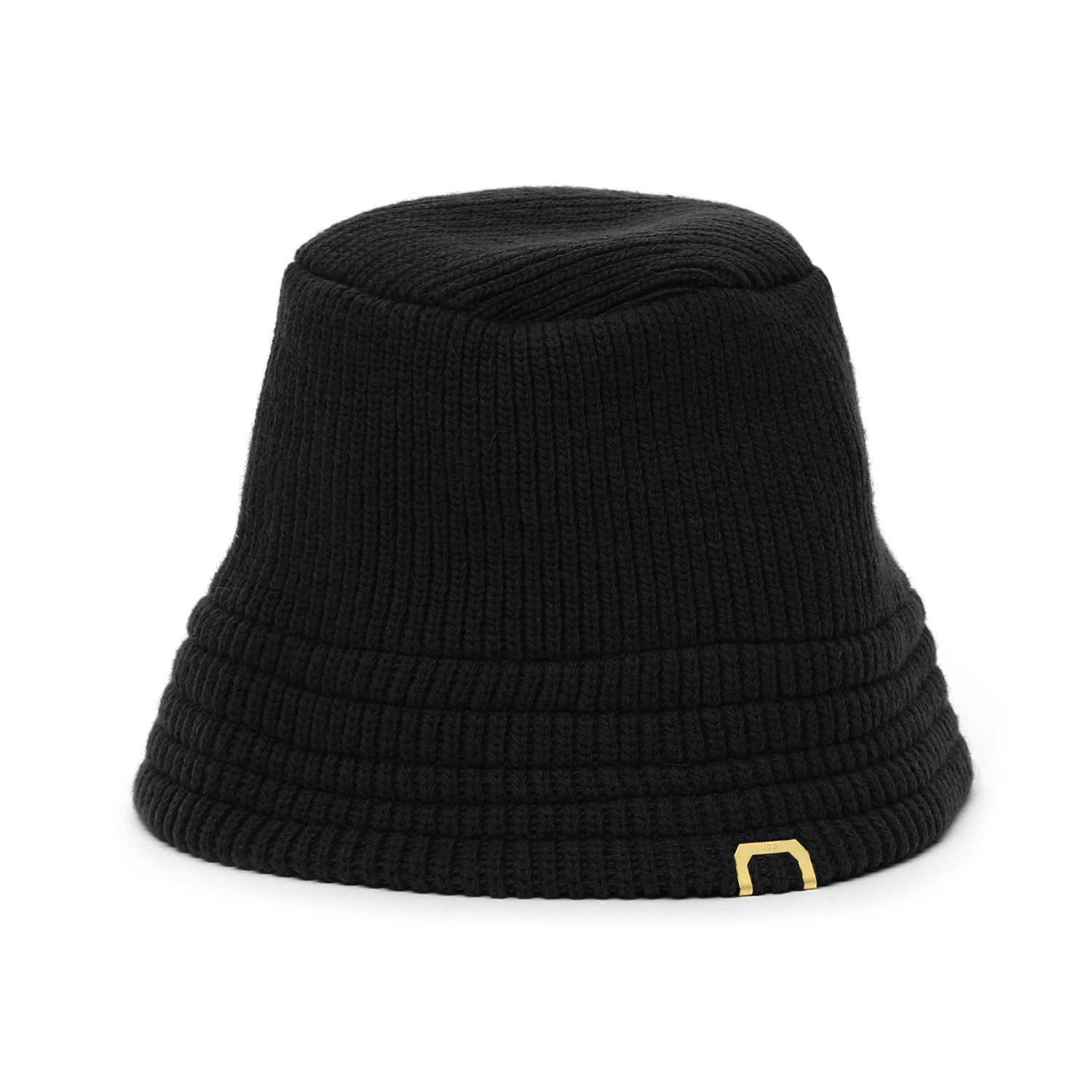 KNIT BUCKET / LAMBS WOOL / BLACK