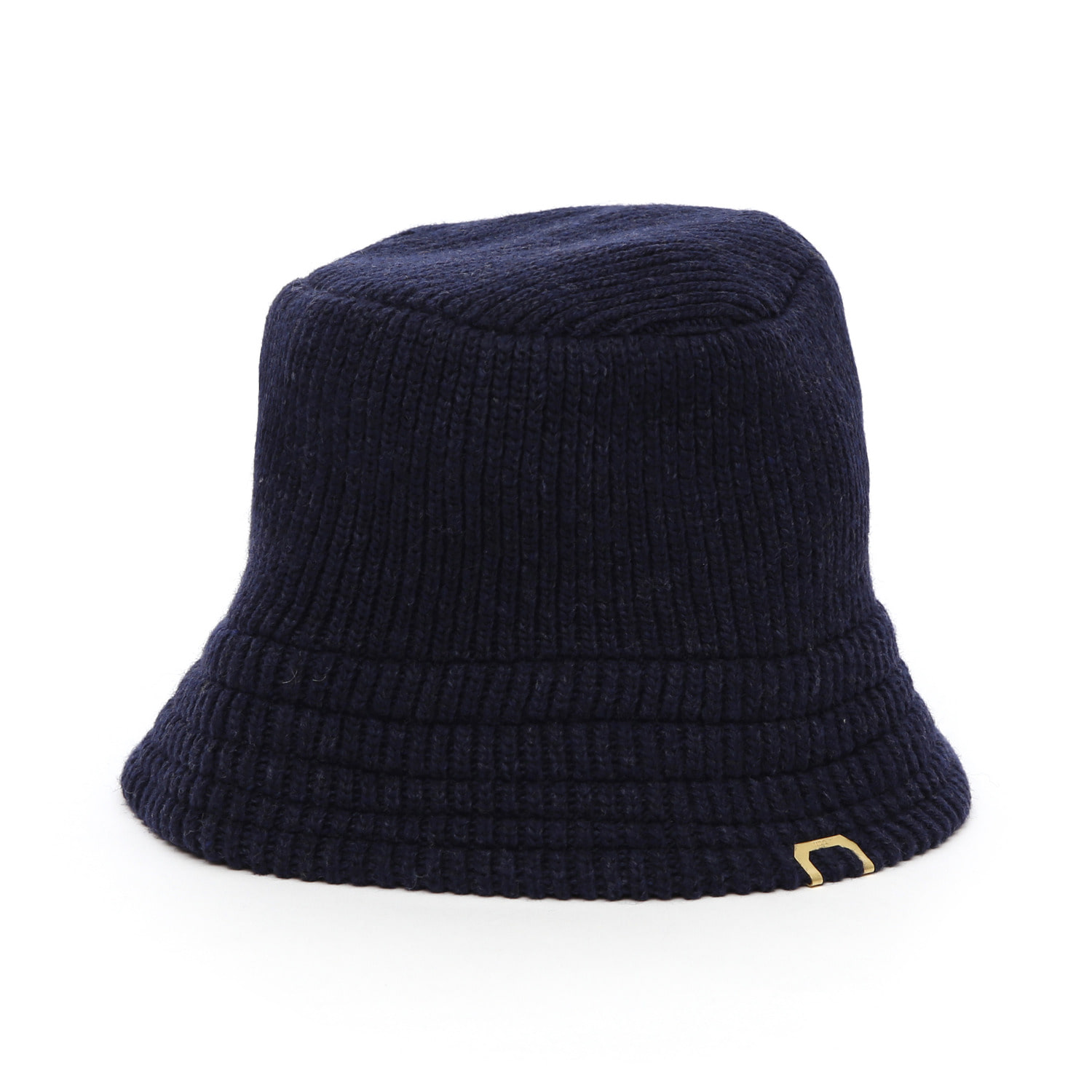 KNIT BUCKET / LAMBS WOOL / HTR NAVY
