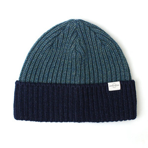 BEANIE / BOLD FIT / WOOL / BLOCK / NAVY
