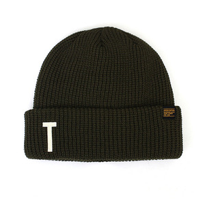 BEANIE / MARINE FIT / OLIVE BOLD T CREW
