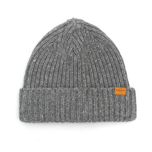BEANIE / JUST FIT / WOOL / LIGHT GREY (BOX PACKAGE)