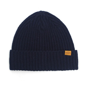 BEANIE / JUST FIT / WOOL / MARINE NAVY (BOX PACKAGE)