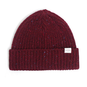 BEANIE / BOLD FIT / WOOL / NEP WINE (BOX PACKAGE)