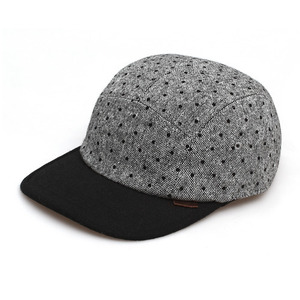 DRAG MAN / BLACK DOT WOOL / GREY