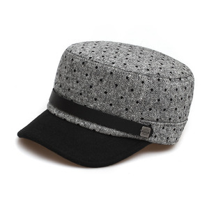 BELL BOY / BLACK DOT WOOL / GREY COMBI